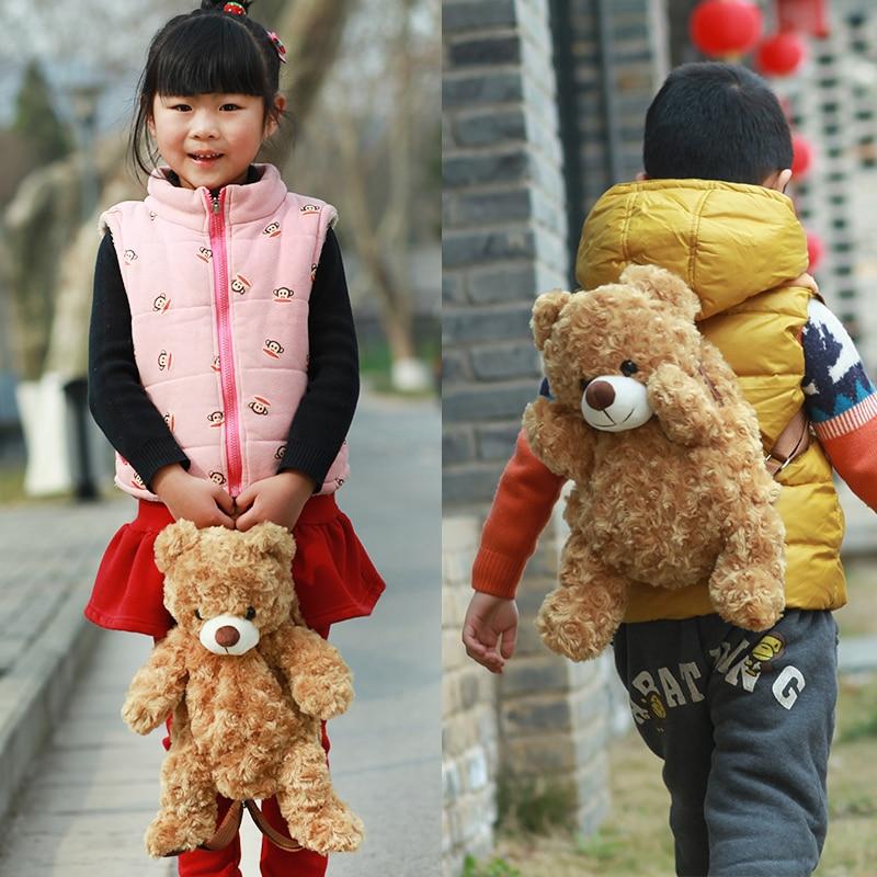 Teddy Bear Backpack Kids Plush Bag
