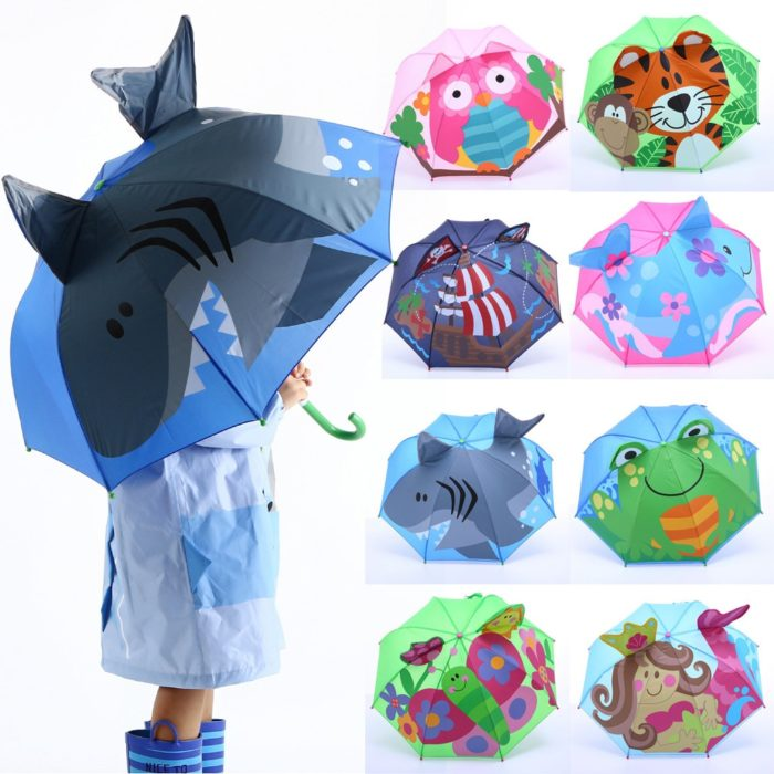 Toddler Umbrella Cartoon Rain Protection