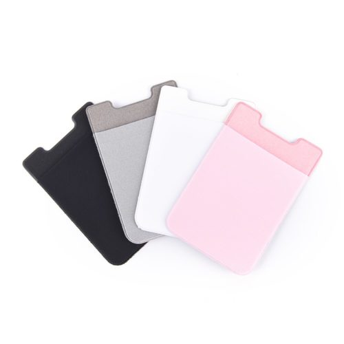 Cell Phone Wallet Self-Adhesive Pocket