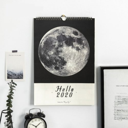 2020 Wall Calendar Daily Notes