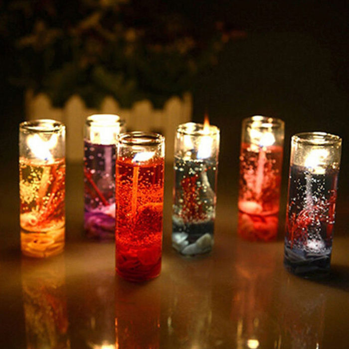 Jelly Candle Home Decoration
