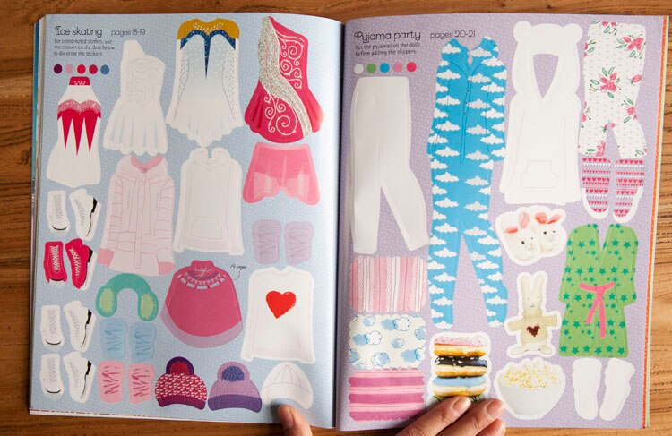 Fashion Design Book Dress Stickers Life Changing Products