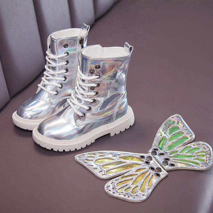 Kids Waterproof Boots Fashionable Shoes