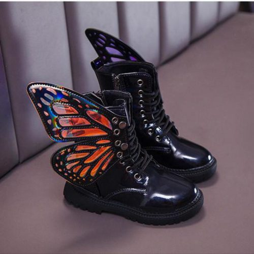 Kids Waterproof Boots Fashionable Shoes