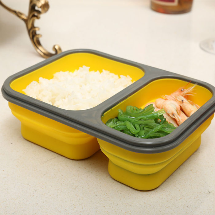 Collapsible Containers Portable Lunch Box