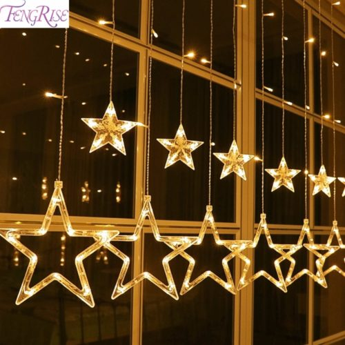 Star String Lights Decorative Material