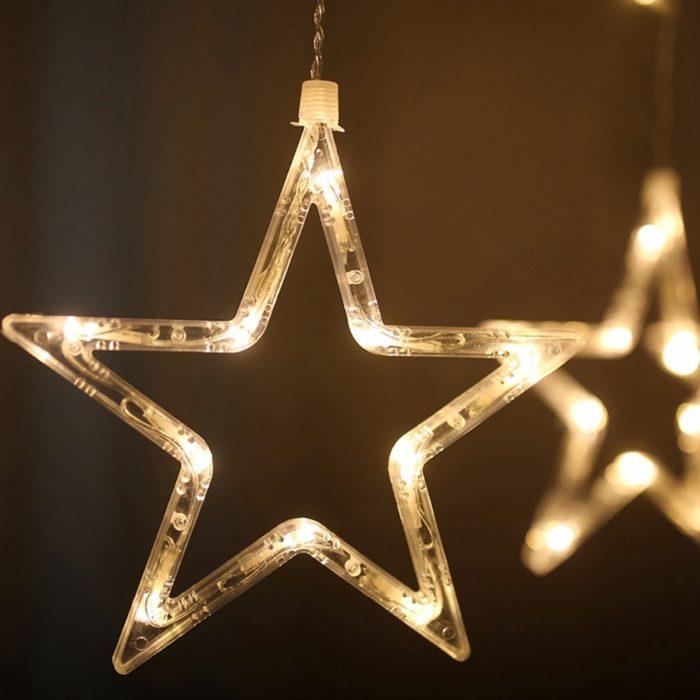 Star String Lights Decorative Material