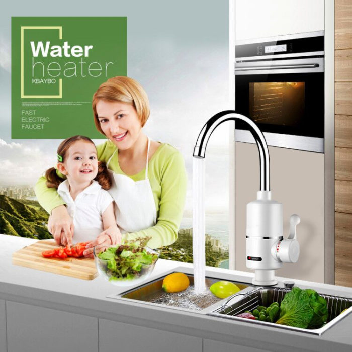 Tap Water Heater Kitchen Faucet