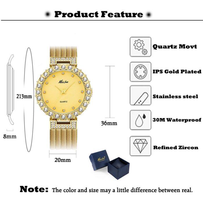 Ladies Fashion Watch Elegant Wristwatch