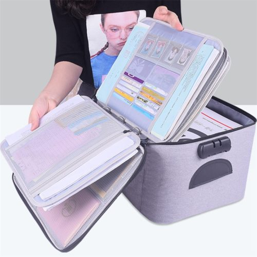 Document Storage Box Large Capacity