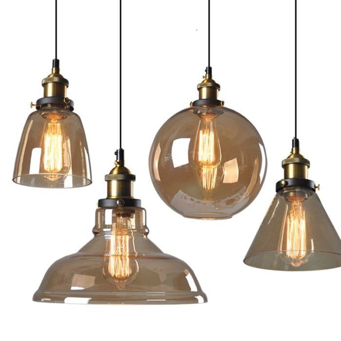 Glass Ceiling Lights Pendant Lamps