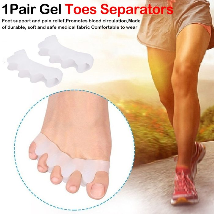 Toe Spacers 1 Pair Silicone Material
