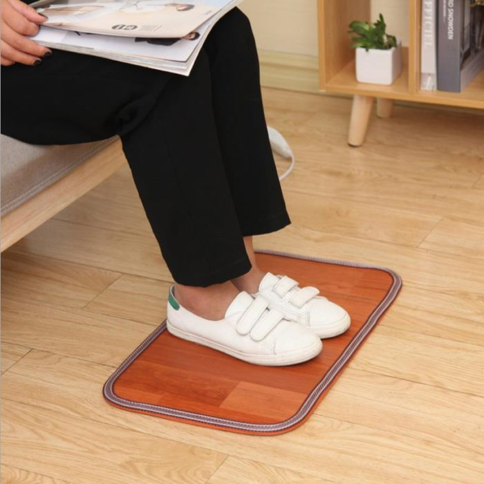 Heated Rug Thermal Mat Feet Warmer