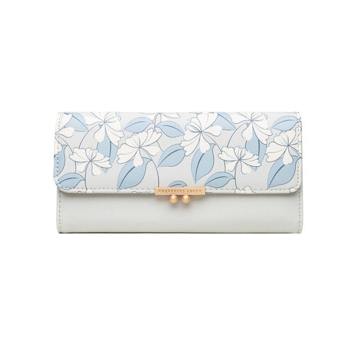 Cute Wallet For Women Long Leather Wallet