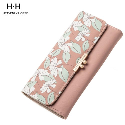 Cute Wallet For Women Long Leather Wallet