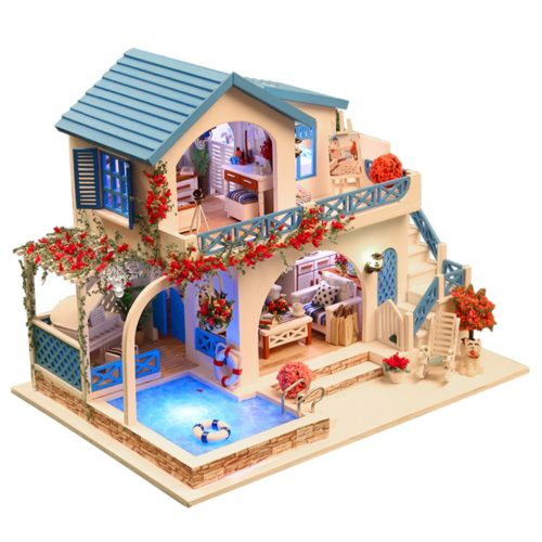 Miniature House DIY Doll House