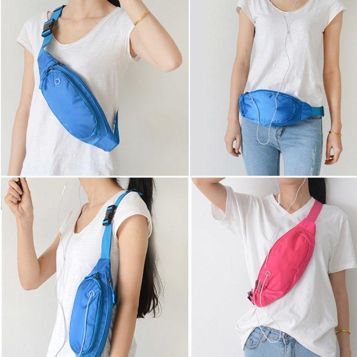Sport Fanny Pack Unisex Waist Bag