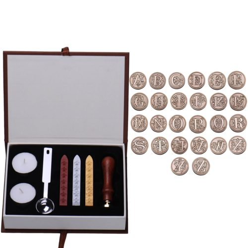 Wax Seal Kit Vintage Letter Seal Set