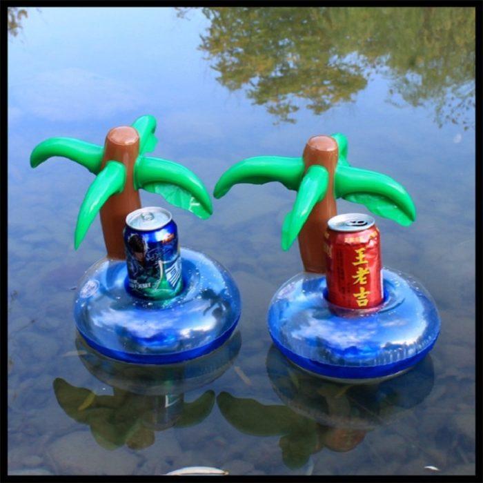 Inflatable Drink Holder Cute Pool Floatie