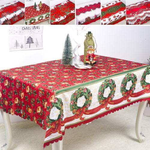 Christmas Tablecloth Rectangular Cover