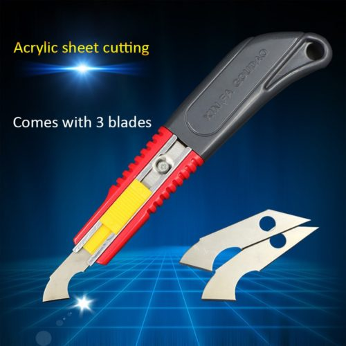 Acrylic Cutter with 3 Replacement Blades