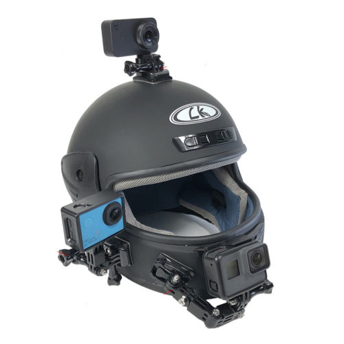 Helmet Camera Mount for Action Camera
