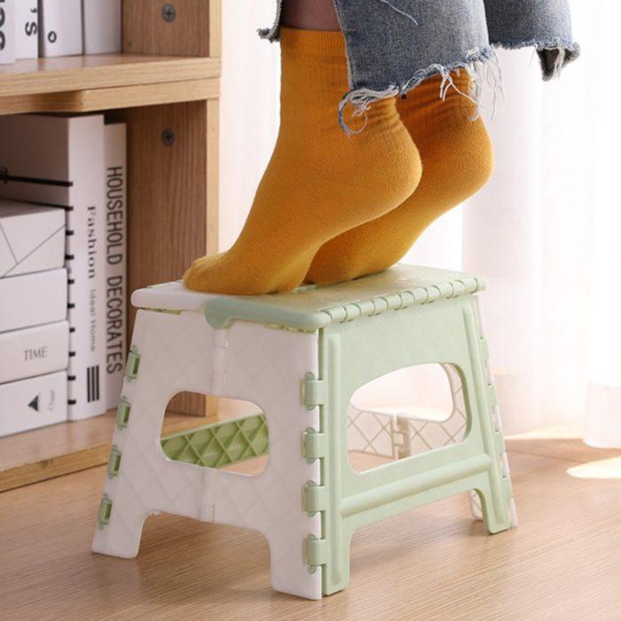 Kids Step Stool Foldable Mini Chair