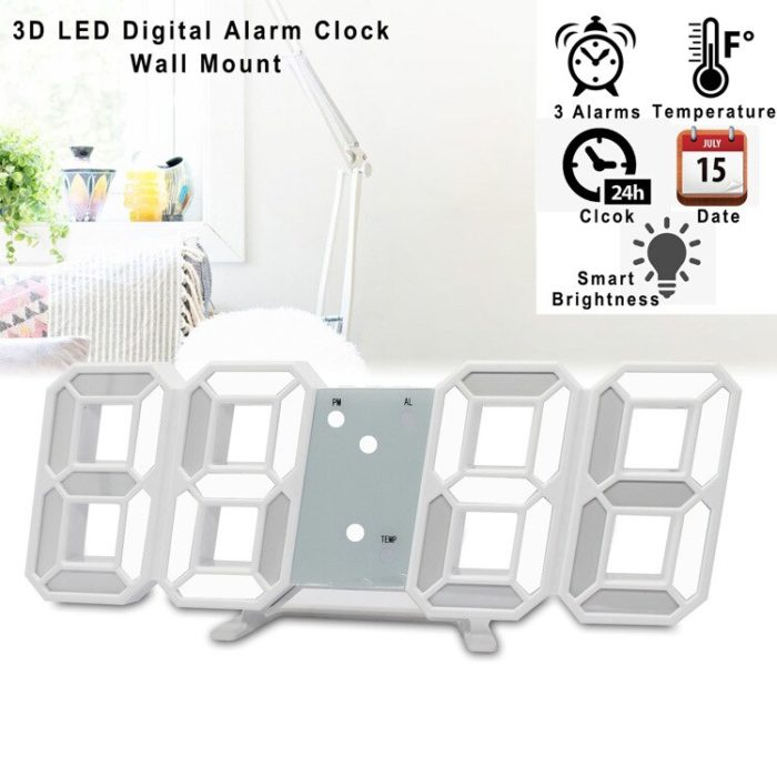 Digital Table Clock LED Alarm Clock
