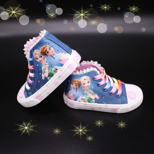 Sneakers for Girls Frozen Design