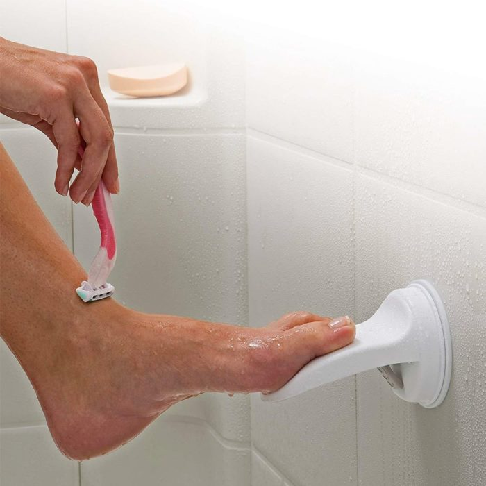 Shower Foot Rest Leg Suction Stool