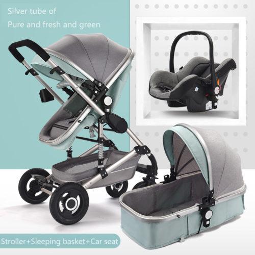 Car Seat Stroller 3in1 Travel Set