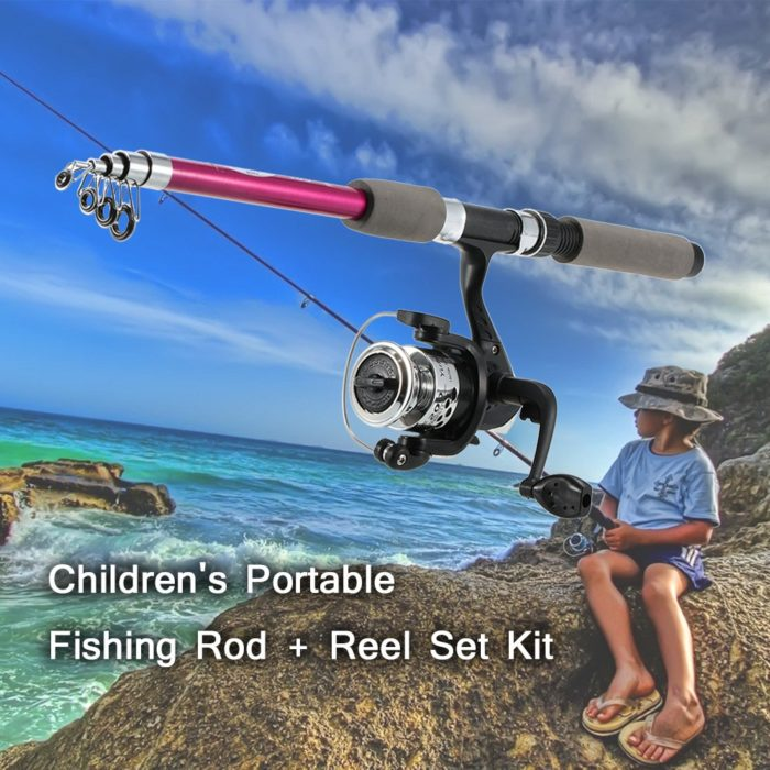Kids Fishing Rod with Fishing Reel