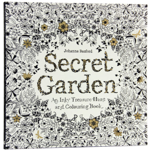 Secret Garden Coloring Book Painting Book