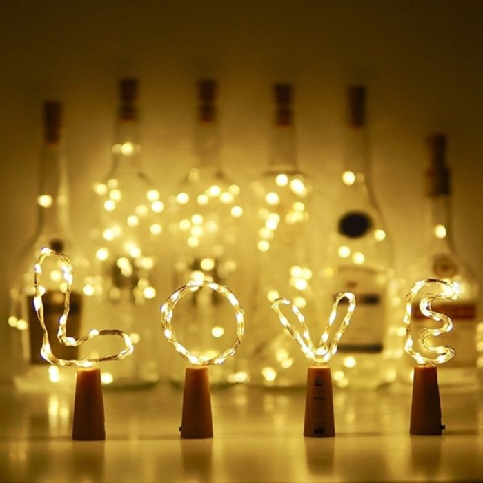 Wine Bottle Lights Fairy String Lights