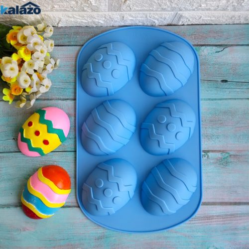 Easter Egg Mould Silicone Kitchen Tool
