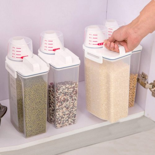 Cereal Container Plastic Food Dispenser`