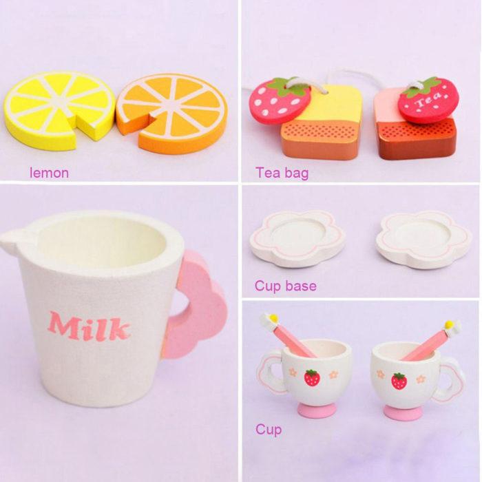 Toy Tea Set Kids Pretend Play