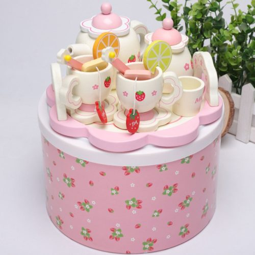 Toy Tea Set Kids Pretend Play
