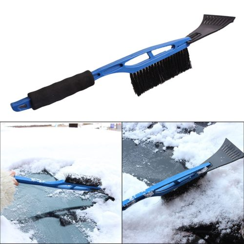Snow Broom 2in1 Ice Scraper Brush