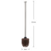 Silicone Toilet Brush with Brush Heads
