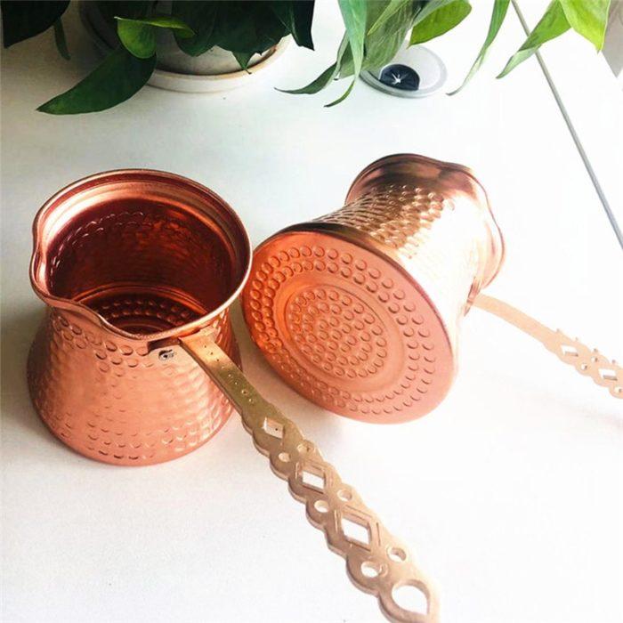 Turkish Coffee Pot 330mL Copper Pan
