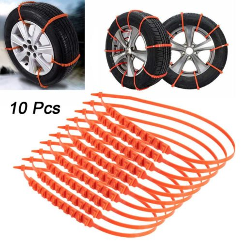 Snow Chains Anti-Slip Tire Wheel Cable