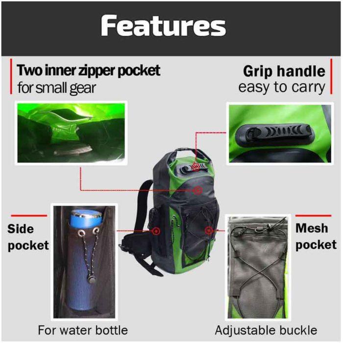 Swim Backpack Waterproof Bag