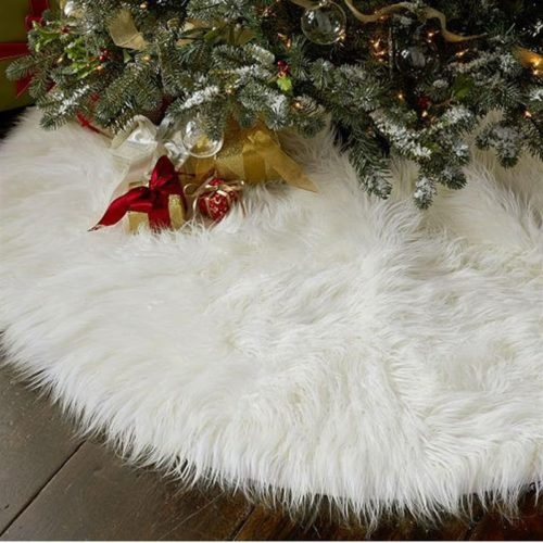 Tree Skirt Christmas Carpet Decor