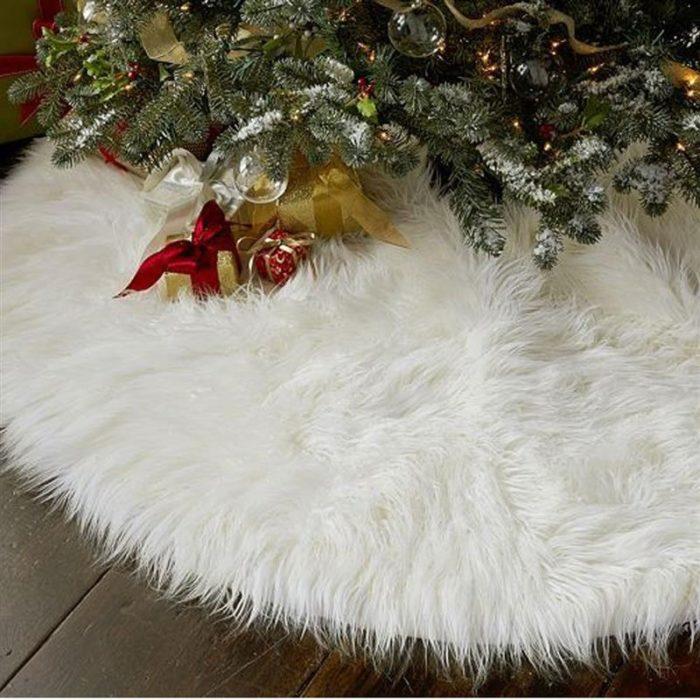 Tree Skirt Christmas Carpet Decor