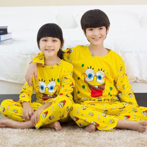 Cartoon Pajamas Kids' Nightwear