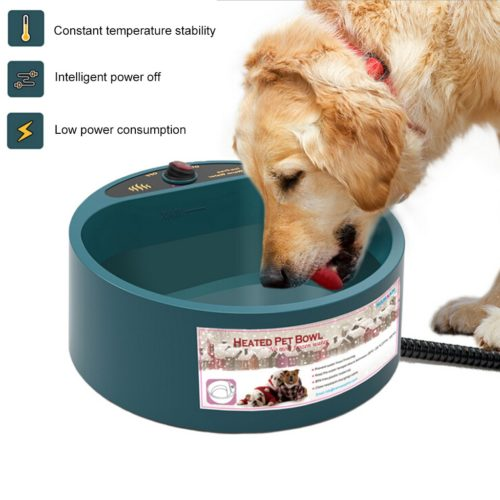 Heated Water Bowl for Dogs and Cats