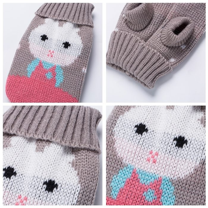 Dog Winter Clothes Pet Sweater