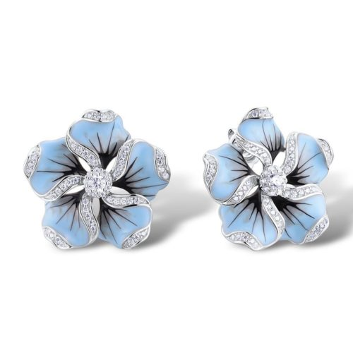 Flower Stud Earrings Fashion Accessory