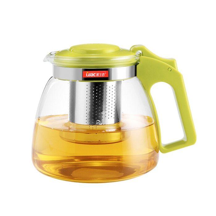 Tea Kettle 700mL Glass Tea Infuser
